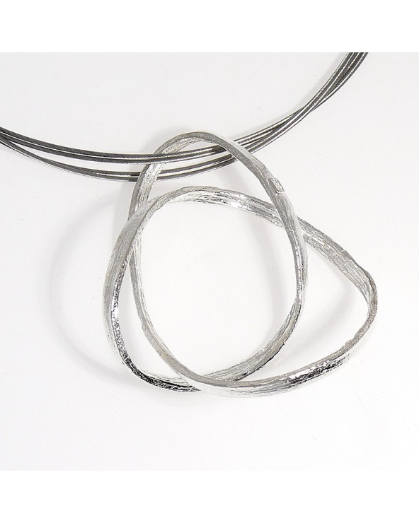 Colgante Infinity pequeño orfega plata