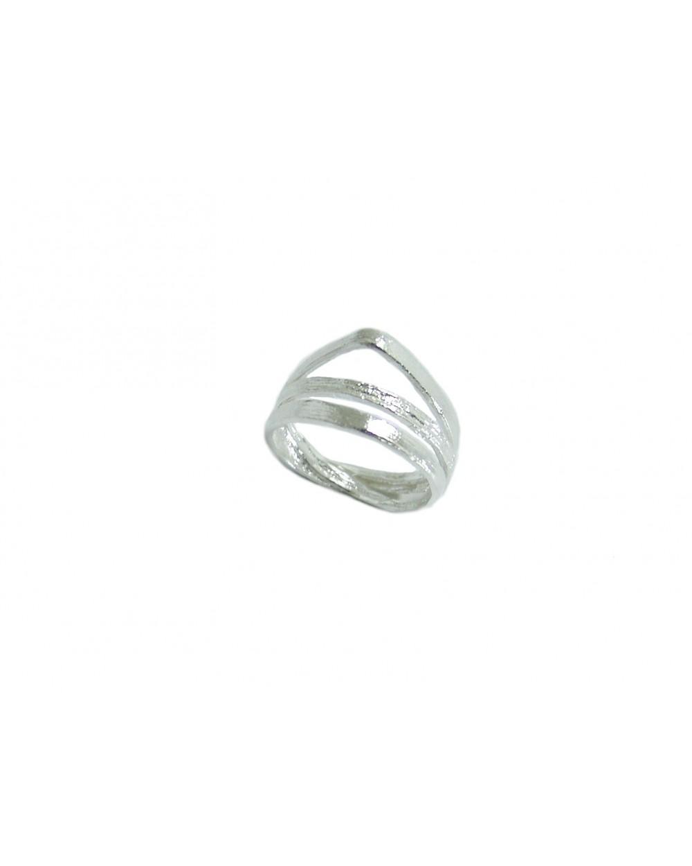 anillo Infinity orfega plata