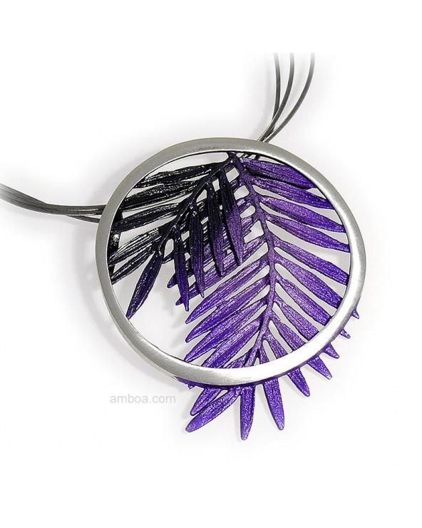 Colgante Male pequeño violeta